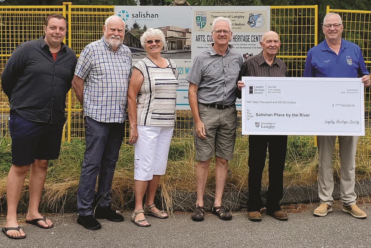 Heritage Society Sponsors Salishan Place Classrooms