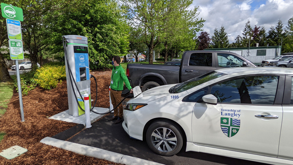 Township Leads the Charge with New EV Infrastructure